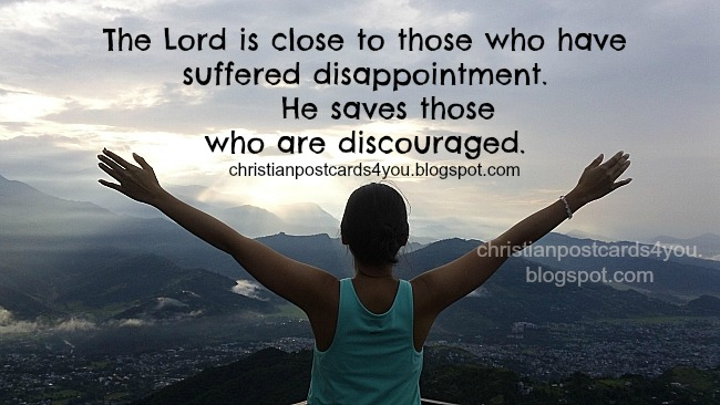 God help you in your problems, trials, difficulties, divorce, sin, depression, when you are down, christian postcard cards facebook. Free religious cards for friends. Christian images.