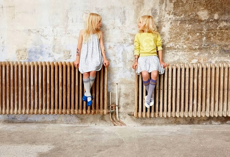 Zadig & Voltaire spring/summer 2014 girls fashion collection