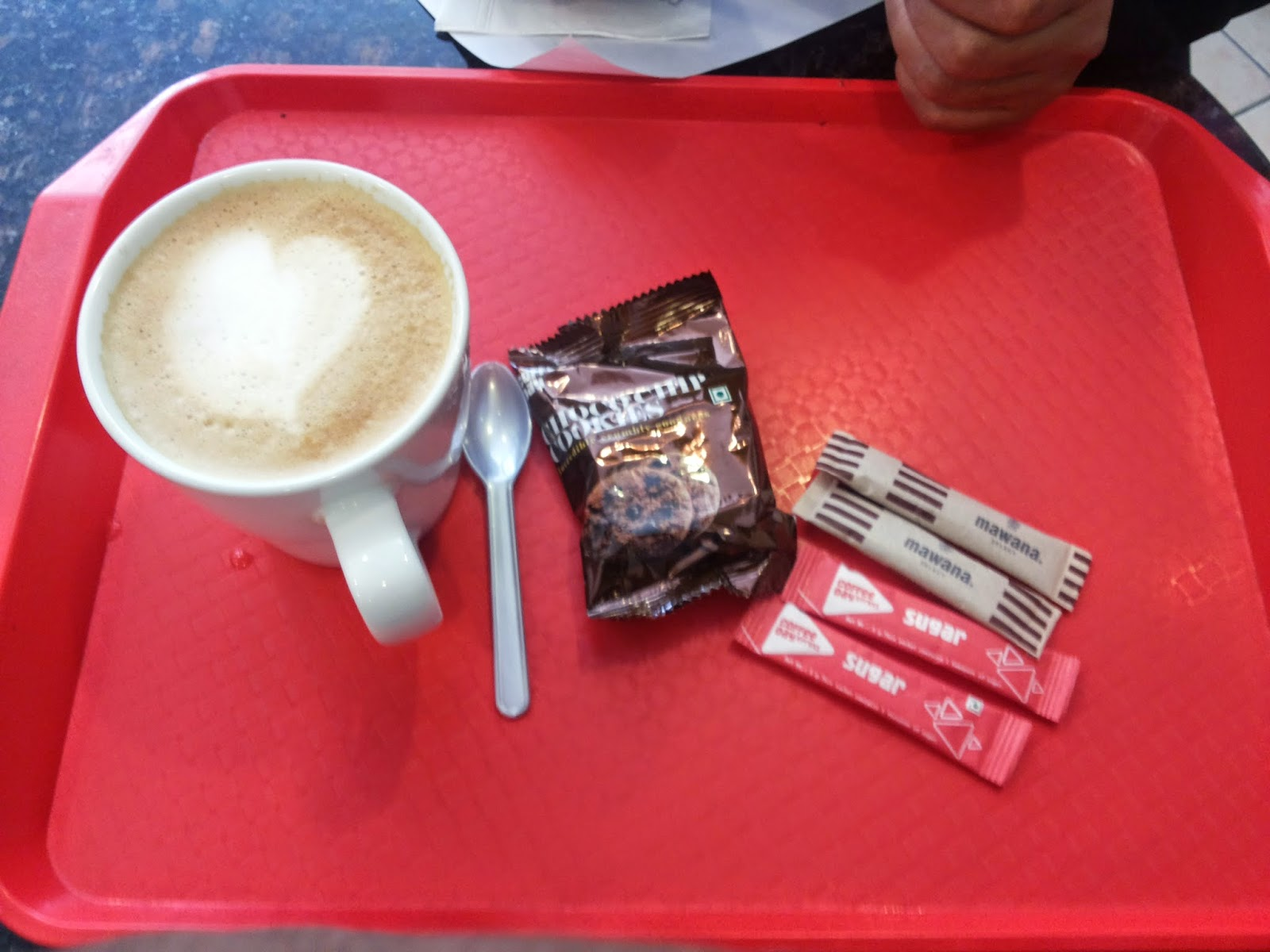 I'm addicted to have coffee with you - Cafe Coffee Day - CCD