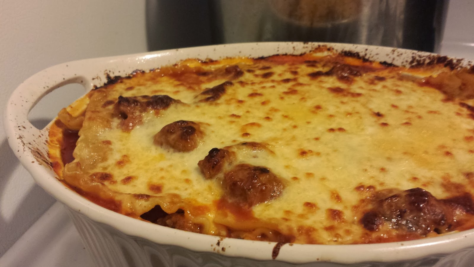 Another Alleged Food Blog: Three-meat, two cheese lasagna