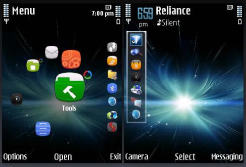 Theme Name : Galaxy S4 Menu Style