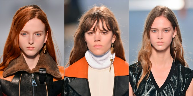 Un pendiente solo en Louis Vuitton