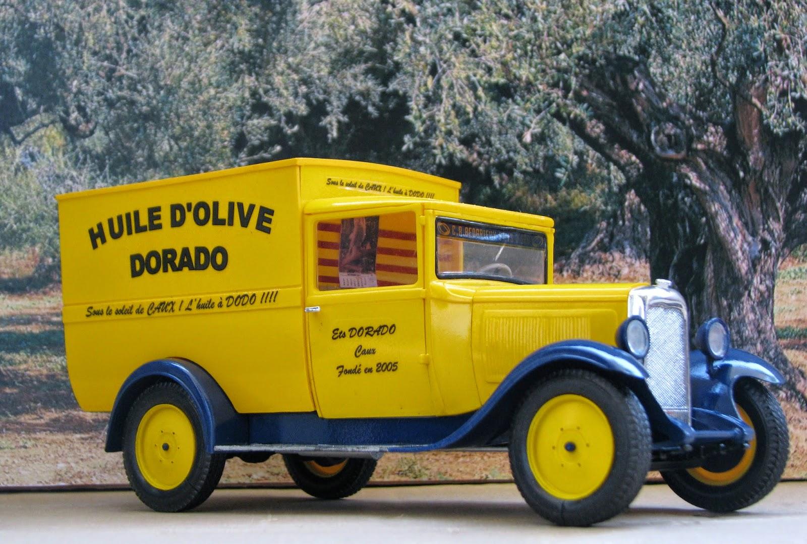 en mod u00e8le r u00e9duit  camion  u0026quot huile d u0026 39 olive dorado u0026quot