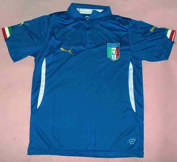 2014-15 Italy Home World Cup Football Shirt (Kids),Puma