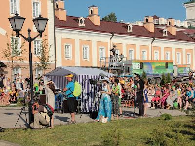 СМИ на концерте Российского рогового оркестра