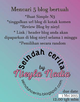 Segmen: Mencari 5 Blog Bertuah