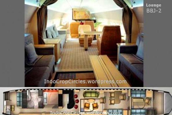 Interior Pesawat BBJ2,Pesawat Khusus Kepresidenan RI