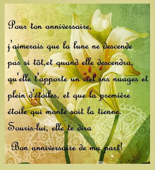 Texte Et Carte D Anniversaire Original Pour Ami Texte Anniversaire