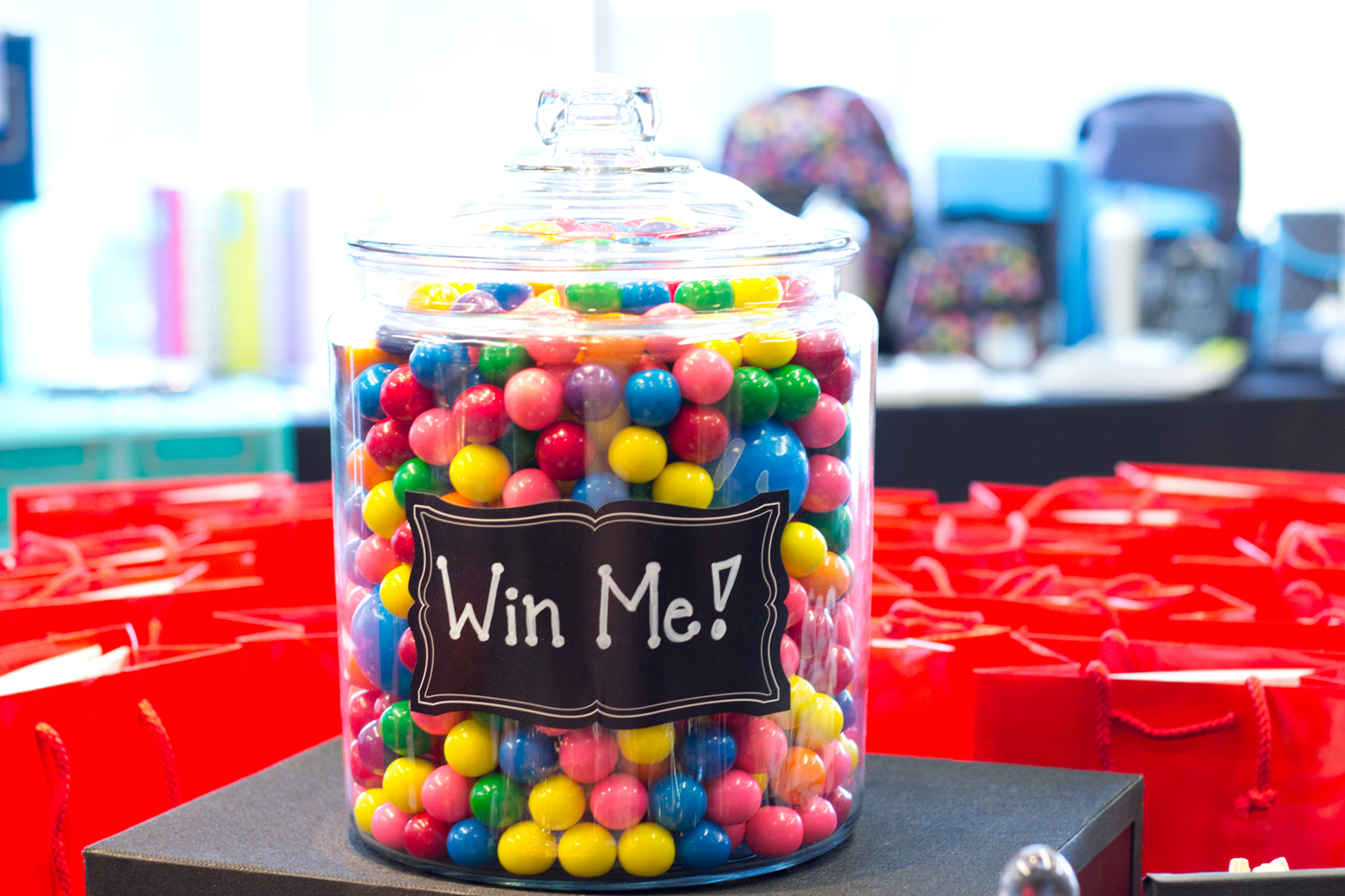 colourful-gum-balls-candies, hilroy-back-to-school-event