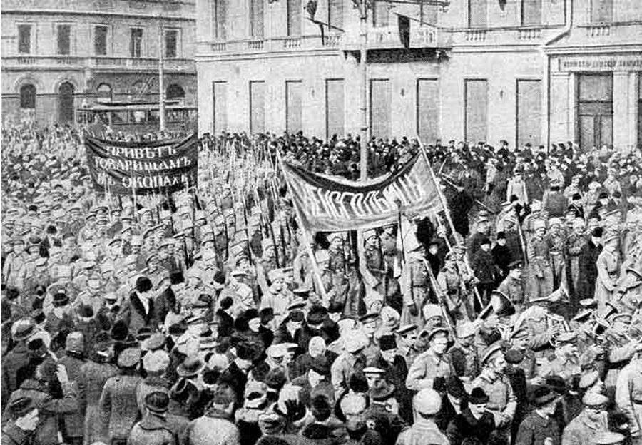 protestas antes de la revolución rusa