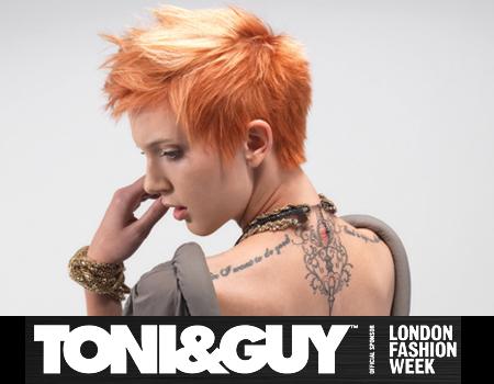 Прически 2012: TONI&GUY колекция Freedom
