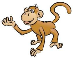 Monkey cartoon wallpaper