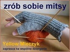 Tutorial - jak zrobić mitenki na drutach