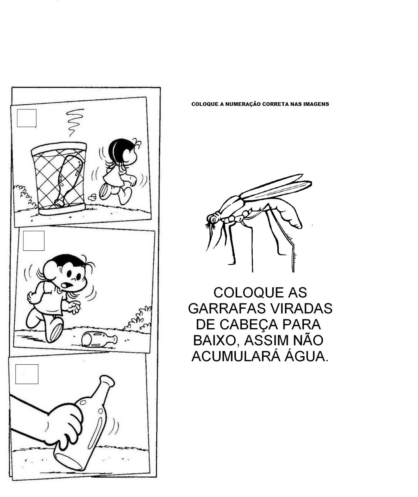atividades alfabetizacao jardim horta pomar:atividades para educação infantil 4 anos: atividades projeto dengue