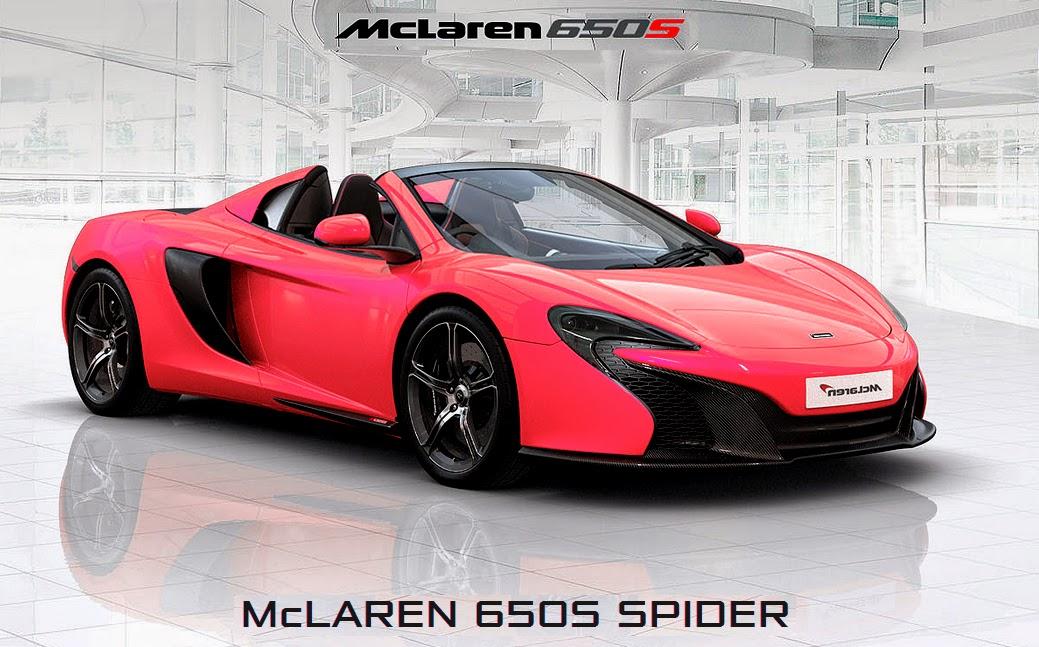 McLaren 650S Spyder Wallpaper