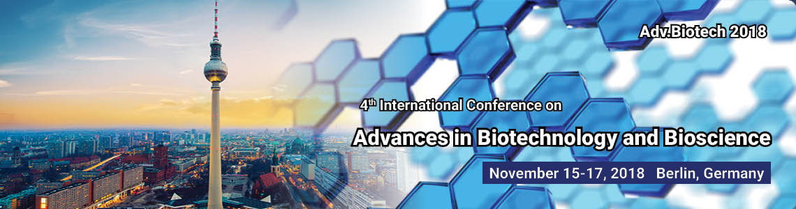 <b>4<sup>th</sup> International Conference on Advances in Biotechnology and Bioscience</b>