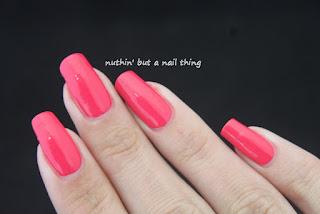 Kiko Power Pro Nail Lacquer - Strawberry Pink (12)