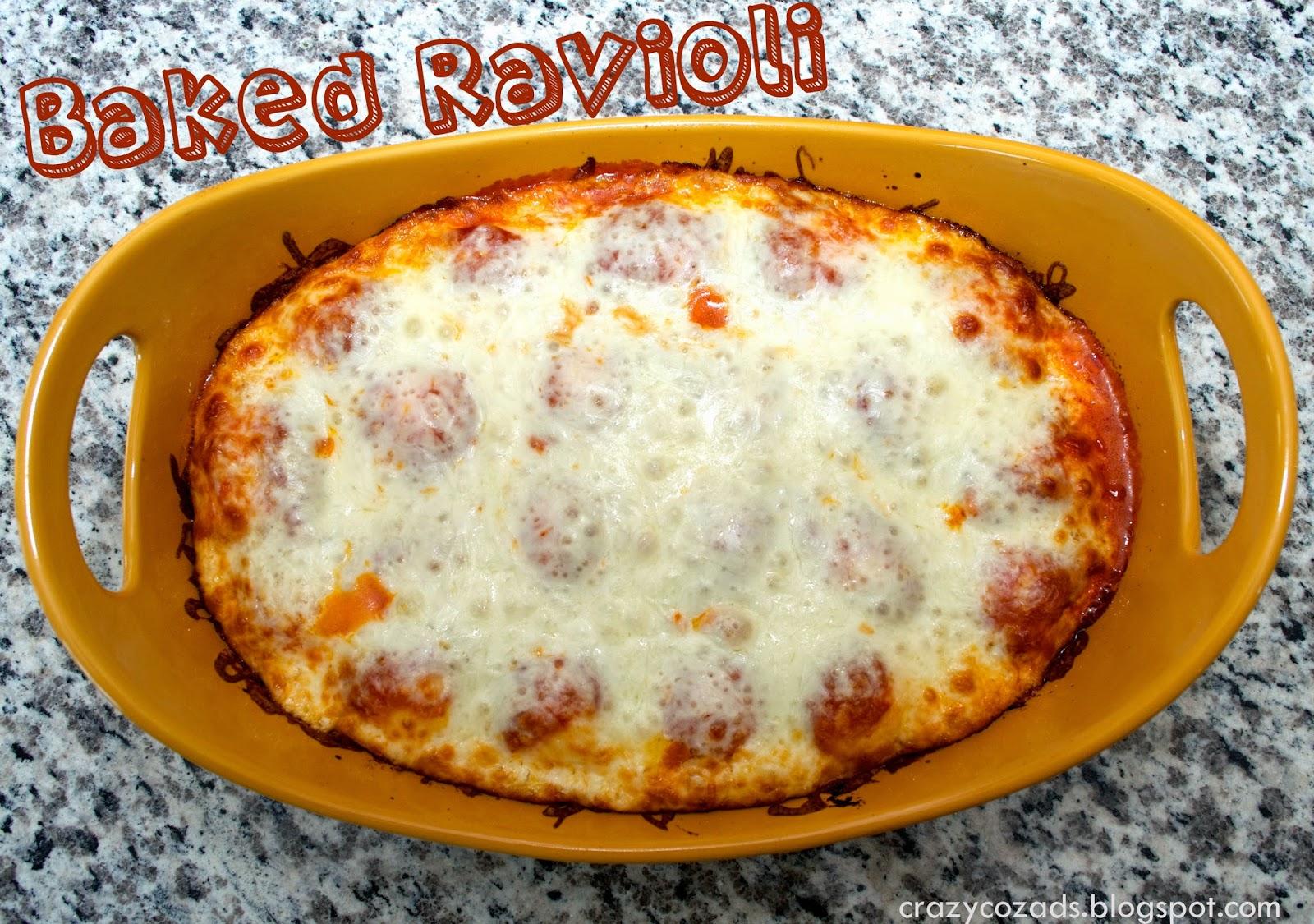 Crazy Cozads: Tasty Tuesday:Baked Ravioli