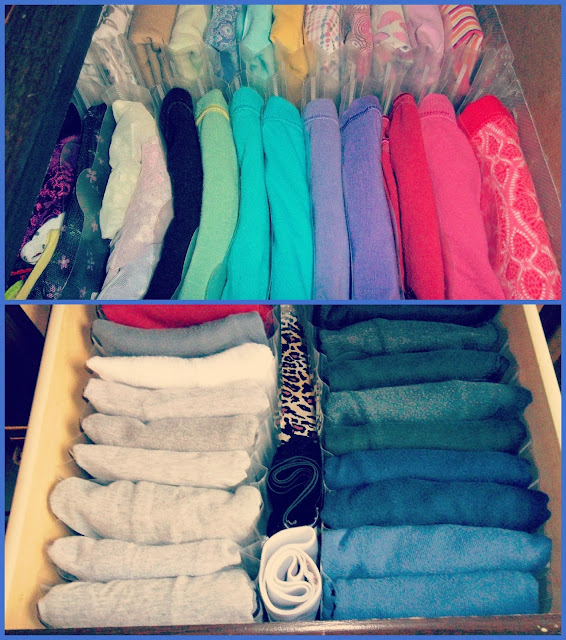 31 Days of Spontaneous Organizing - Day #3: Sock and Underwear Drawer