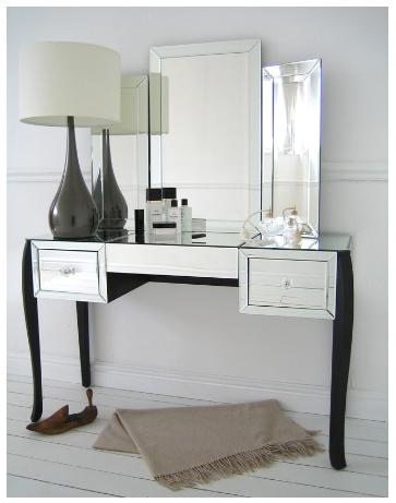 Mirrored bedroom vanity italian design - Bedroom vanity ...