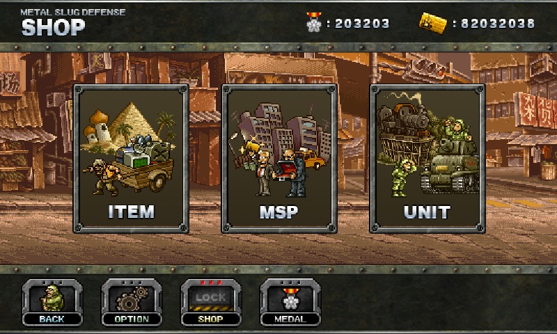 Metal Slug Defense V1.15.1 Mod Apk (Unlimited MS Points/Medals)