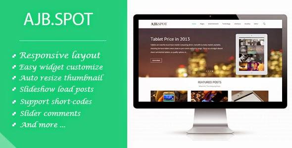 AJB.Spot - Responsive Blogger Template