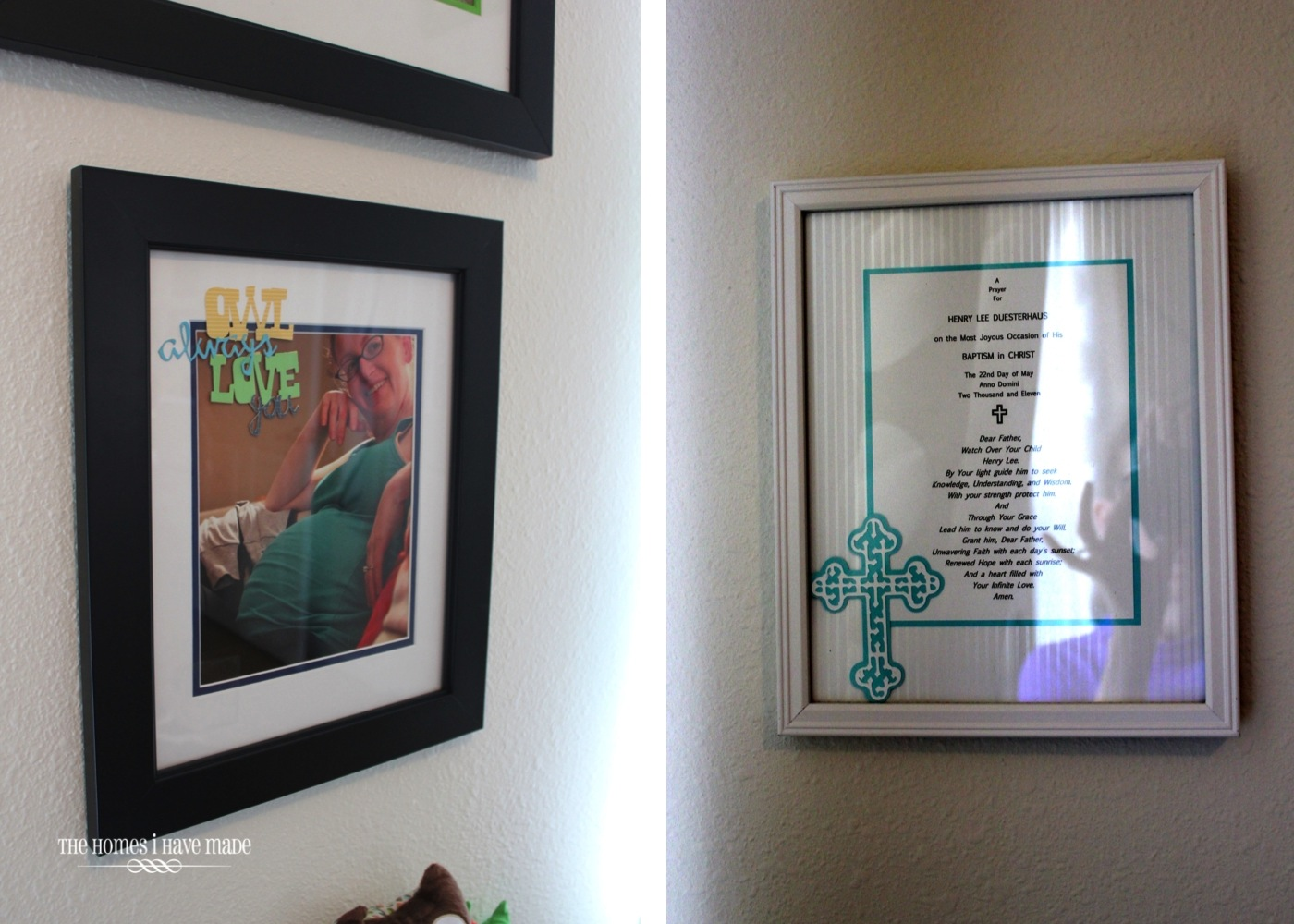 The Homes I Have Made: The Gallery Wall Up Close {Little Boy Room ...