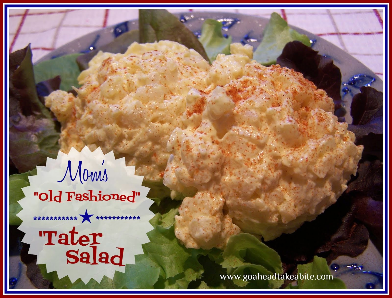 "Mom's ""Old Fashioned"" 'Tater Salad"