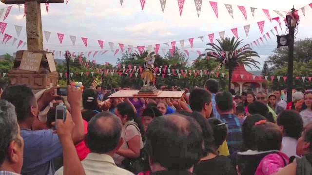 Fiesta del señor San José. Sevina, Michoacán