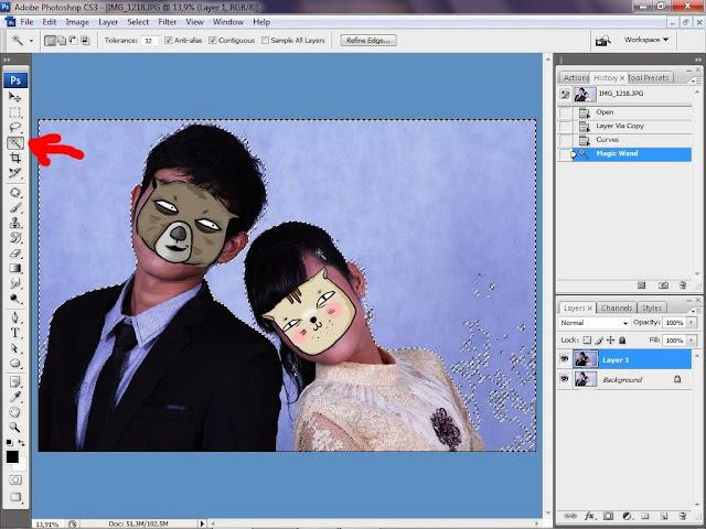 mengganti background foto dengan photoshop cs7 crack