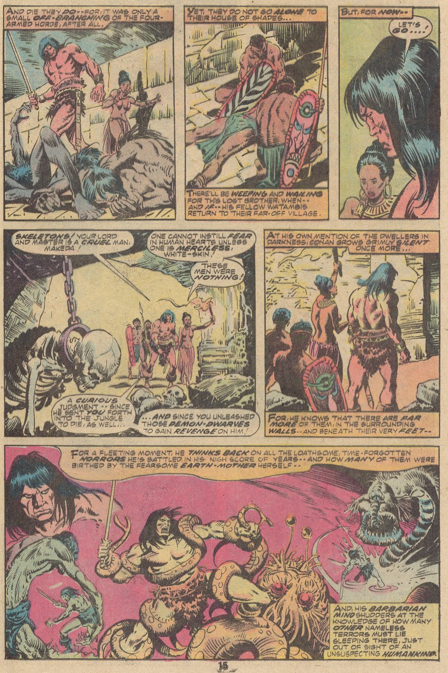 Conan the Barbarian (1970) Issue #63 #75 - English 10