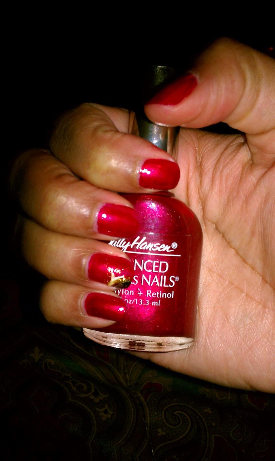 Heartbeat Frost #nail #polish #sallyhansen - Simply Tasheena