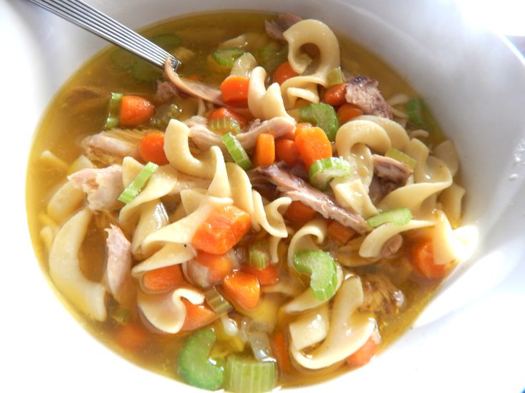 The World's Best Homemade Chicken Noodle Soup - This Ole Mom