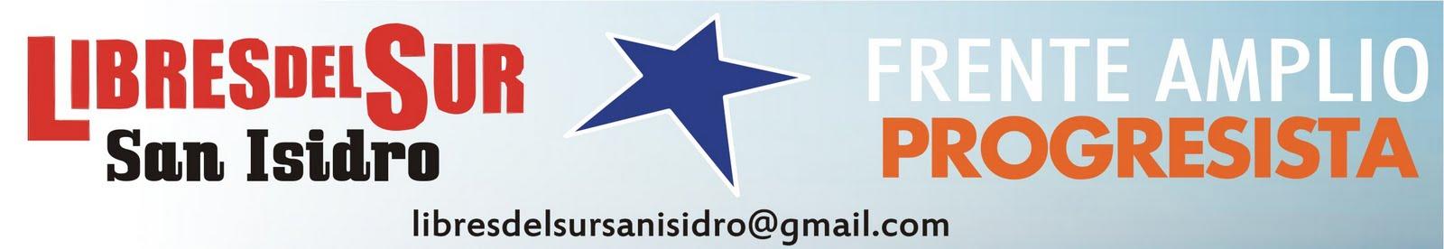 Movimiento Libres del Sur San Isidro - Es tiempo de pasar al frente.