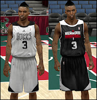 NBA 2K13 Milwaukee Bucks Practice Jersey Patch