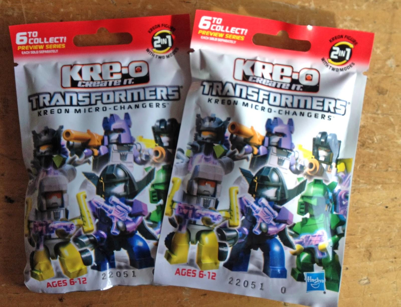 how to make kre o transformers