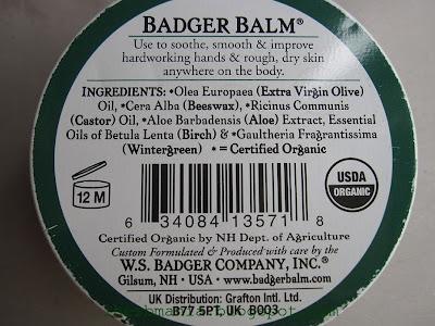 Iherb Badger Balm For Handworking Hands Ingredients Balsamo Manos