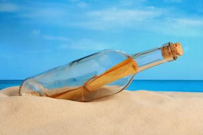 Unik, Pesan dalam Botol Terbalas Setelah 20 Tahun