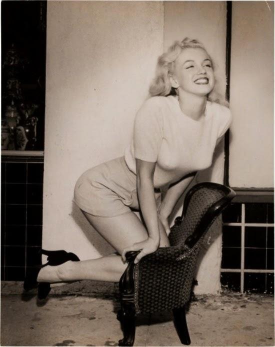 صور للنجمة مارلين مونرو لم ترها من قبل -الجزء الثالث