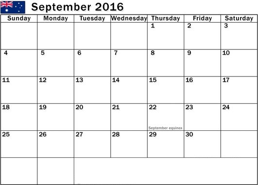 September 2016 Printable Blank Calendar Templates, September 2016 Calendar with Holidays Free, September 2016 Calendar Word Excel PDF Template Download Free