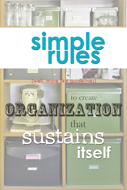 Simple Rules (well, more like guidelines) to create organization that sustains itself