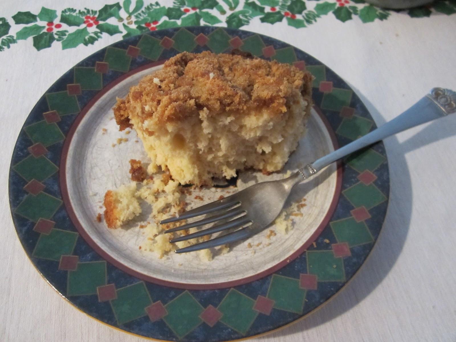 Life On Food Christmas Morning Coffee Cake And Wiaw
