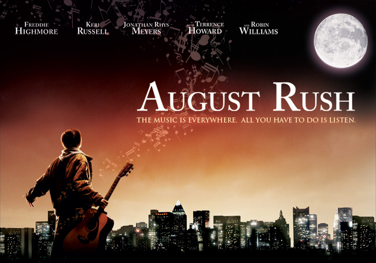 august rush Ten reasons august rush made me want to jab glowing-hot pokers into my eyes.