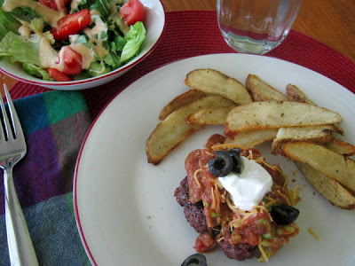 Open-Face Mexican Burgers: Healthy and Delicious