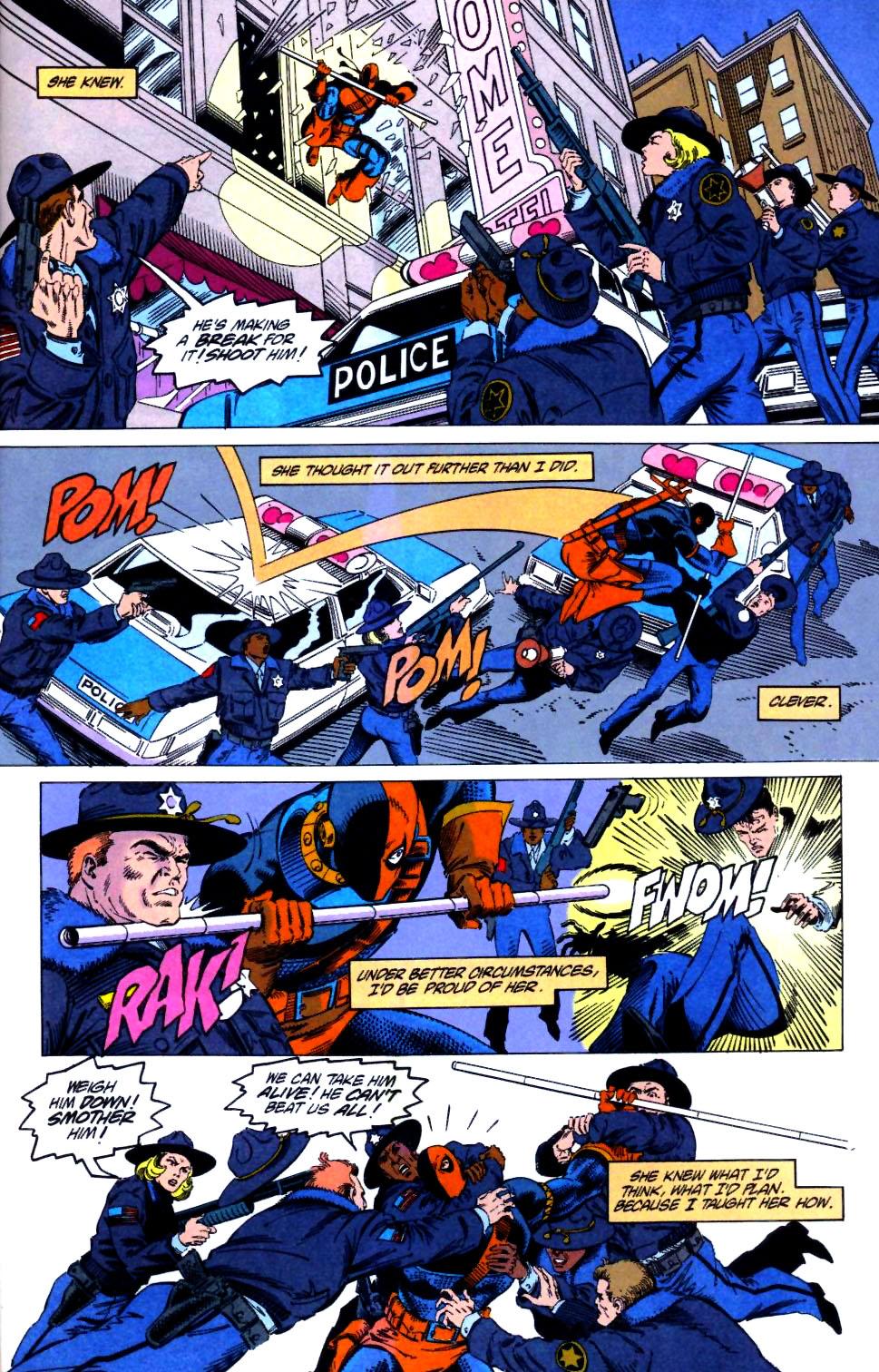 Deathstroke (1991) Issue #21 #26 - English 18