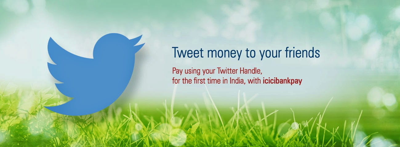 ICICI Bank customers can use Twitter to transfer money, Indian bank now lets customers transfer money via Twitter, This Indian bank now lets customers transfer money via Twitter, ICICI Bank now lets you transfer money or check account, ICICI Launches Twitter Banking Services