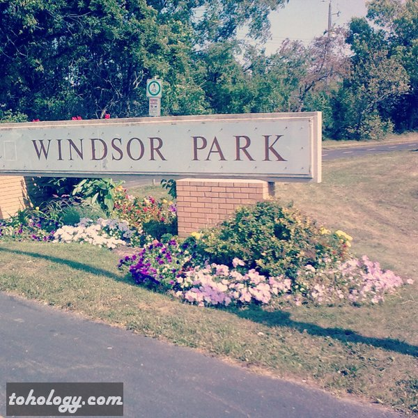 Windsor Park District in Winnipeg Canada