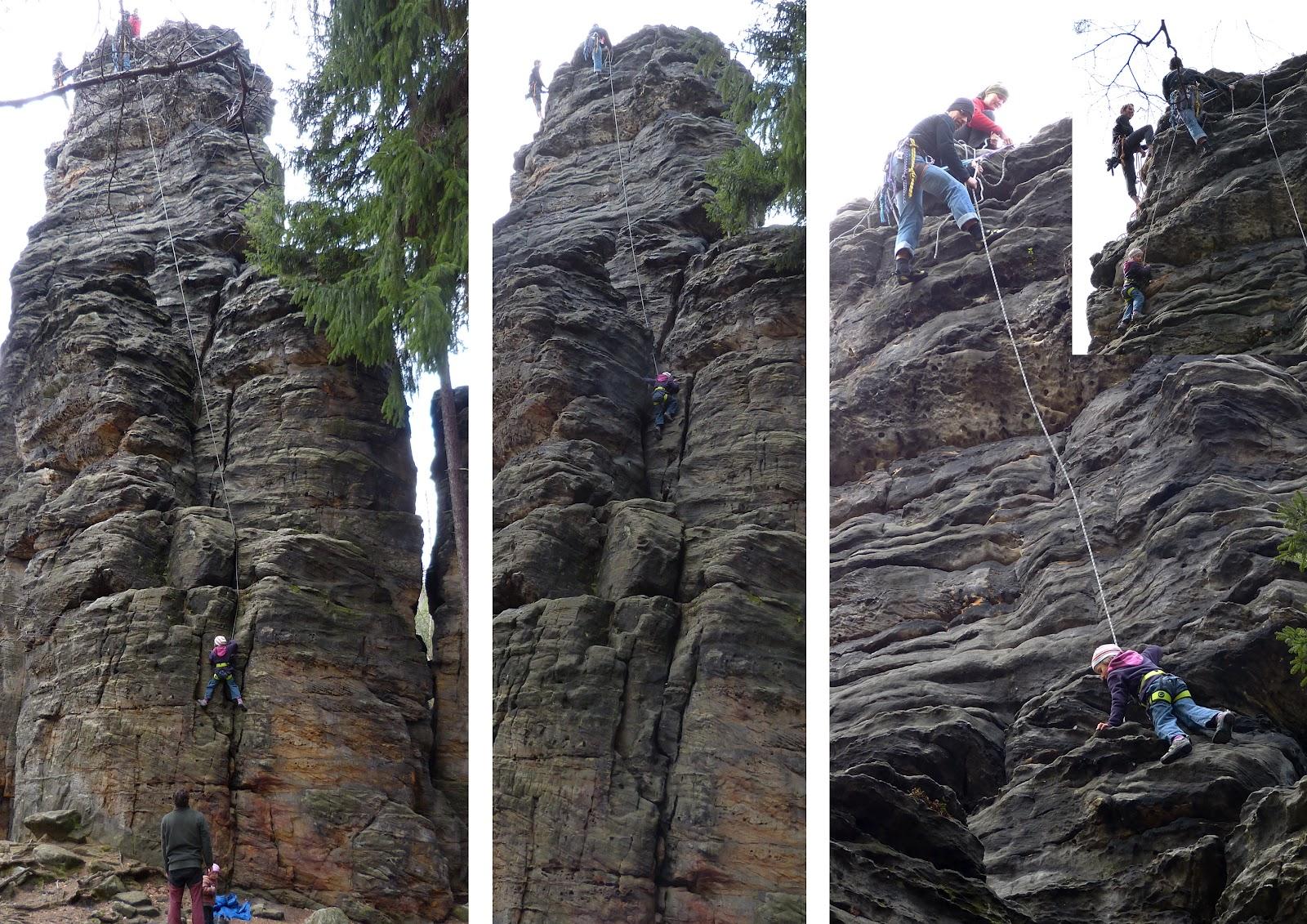 Camp4 Klettergurt : Elisabeths erste schritte
