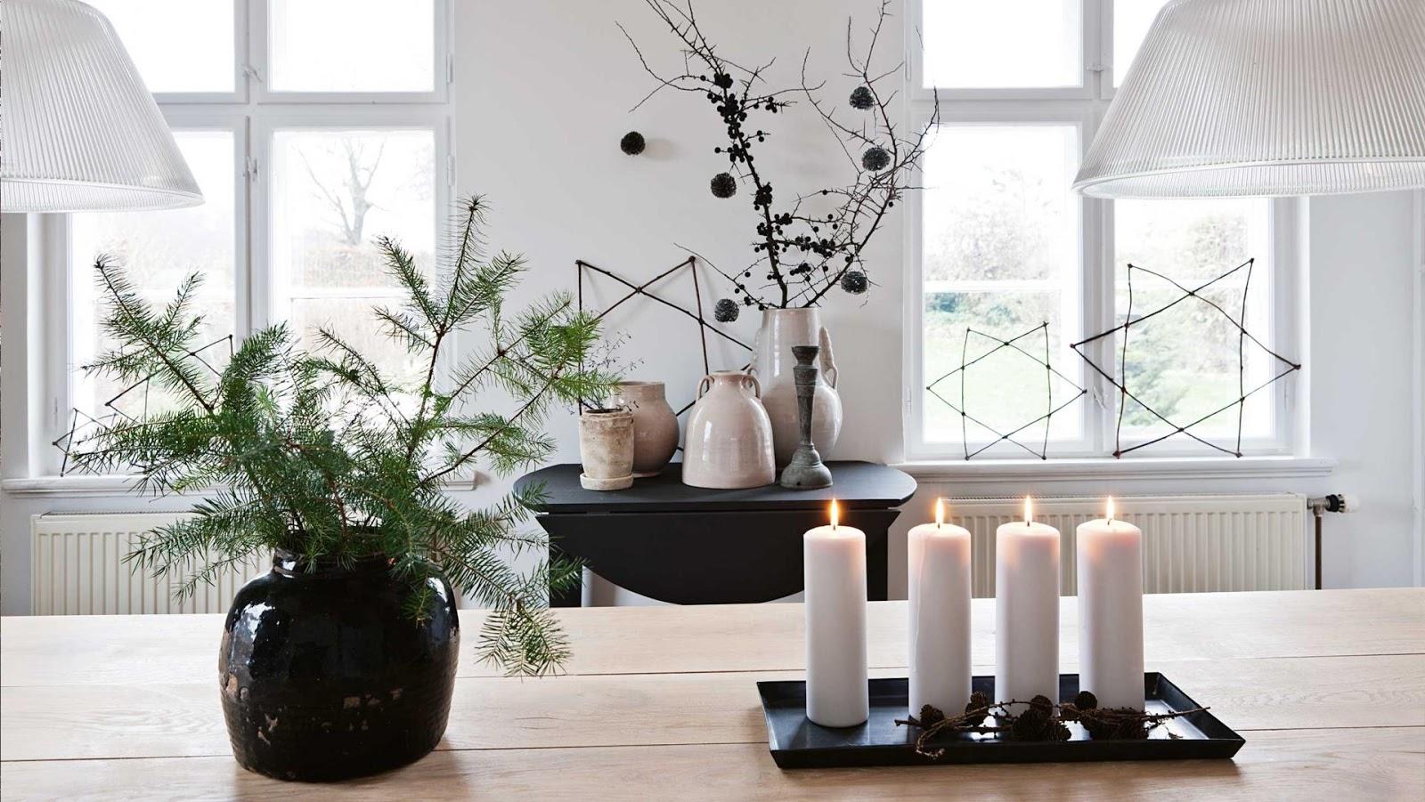 Navidad escandinava claves de una decoraci n monocrom tica y minimalista ministry of deco - Decoracion navidena minimalista ...