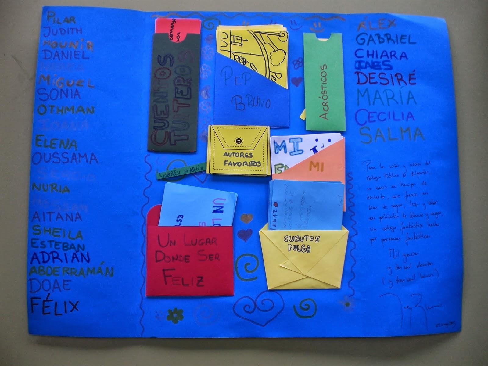 Biblioteca Escolar del Colegio de Alpartir: Lapbook sobre Pep Bruno